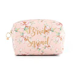 Jade & Deer 'Bride Squad' Loaf Cosmetic Bag