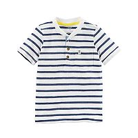 Boys 4-8 Carter's Striped Pocket Henley