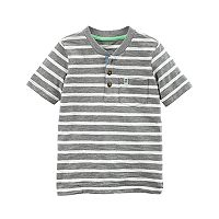 Boys 4-8 Carter's Striped Pocket Henley