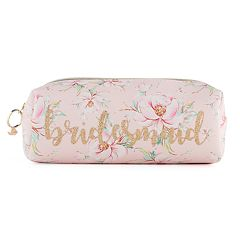 Jade & Deer 'Bridesmaid' Rectangle Loaf Cosmetic Bag