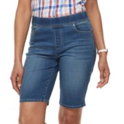 Women's Croft & Barrow® Pull-On Bermuda Shorts