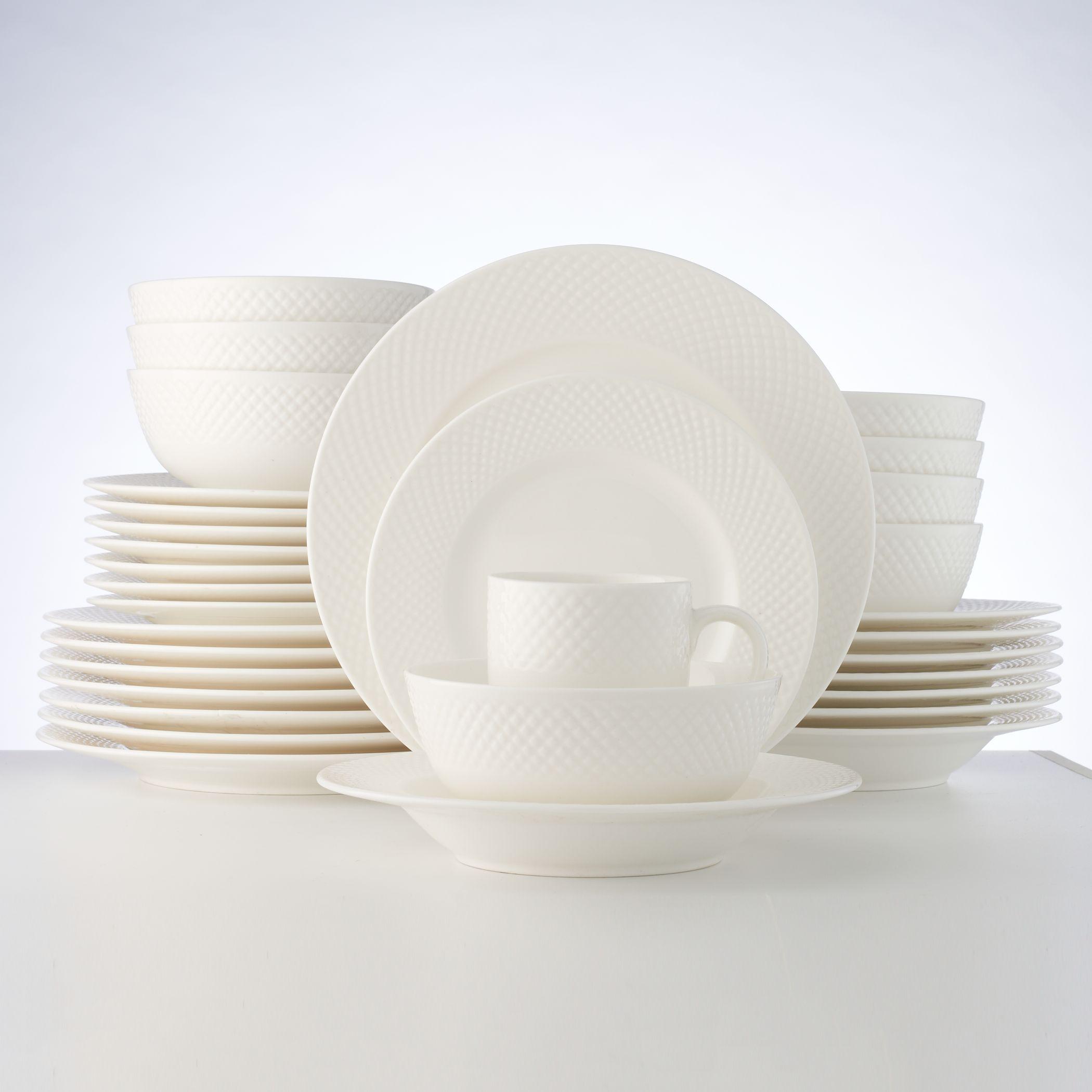 Dinnerware Set & White Dinnerware \u0026 Serveware Kitchen \u0026 Dining | Kohl\u0027s