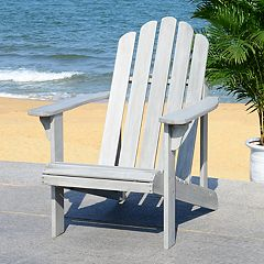 Safavieh Gray Finish Indoor / Outdoor Adirondack Chair