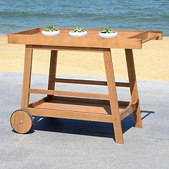 Safavieh Indoor / Outdoor Wood Bar Cart