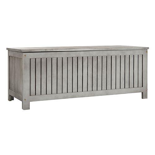 Safavieh Indoor / Outdoor Wood Storage Chest
