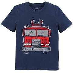 Toddler Boy Carter's Fire Truck Graphic Tee