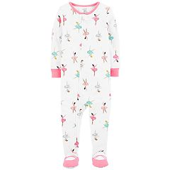 Baby Girl Carter's Ballerina Footed Pajamas