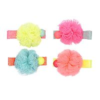 Baby Girl Carter's 4-pack Pom Bead Hair Clips