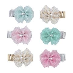Baby Girl Carter's 6-pack Tulle Bow Hair Clips
