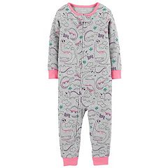 Baby Girl Carter's Dinosaur Coveralls