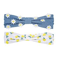 Baby Girl Carter's 2-pack Flora & Lemon Headwraps