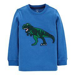 Toddler Boy Carter's Dinosaur Applique Sweatshirt
