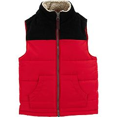 Toddler Boy Carter's Colorblocked Puffer Vest