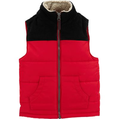 Toddler Boy Carter's Colorblocked Puffer Vest