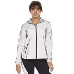 Women's FILA SPORT® Reflective Zip-Up Woven Jacket