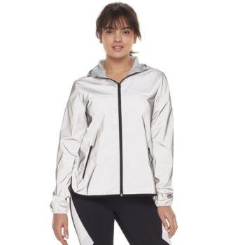 Women's FILA SPORT® Reflective Zip-Up Woven Jacket
