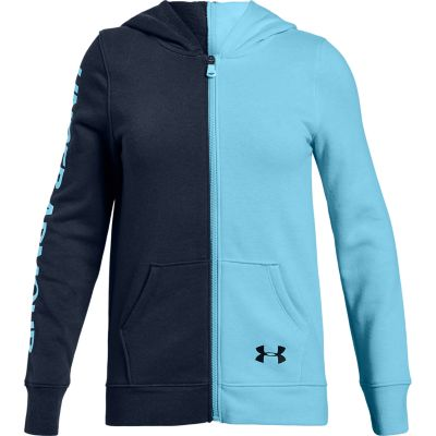 Girls 7-16 Under Armour Rival Full Zip Hoodie Sweatshirt
