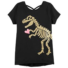 Girls 4-14 Carter's Dinosaur & Heart Graphic Tee
