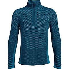 Boys 8-20 Under Armour Seamless Quarter-Zip Tee