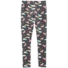 Girls 4-14 Carter's Unicorns & Rainbows Leggings