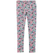 Girls 4-14 Carter's Floral Print Leggings