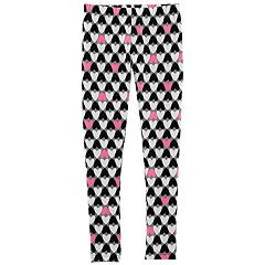 Girls 4-14 Carter's Heart Print Leggings