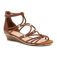 Apt. 9® Women's Strappy Wedge Sandals