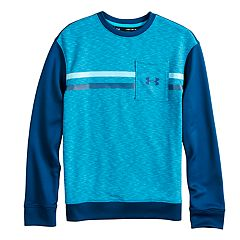 Boys 8-20 Under Armour Huddle Up Terry Cloth Top