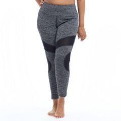 Plus Size Marika Optic Jacquard Leggings