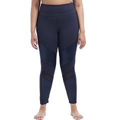 Plus Size Marika Curves Mesh Ankle Leggings