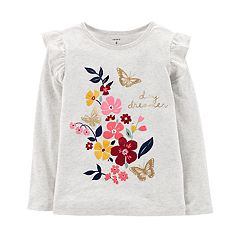 Girls 4-14 Carter's 'Day Dreamer' Floral Graphic Tee