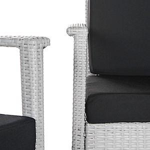 Safavieh Wicker Indoor / Outdoor Chair, Loveseat & Coffee Table 4-piece Set