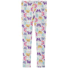 Girls 4-14 Carter's Butterfly Print Leggings