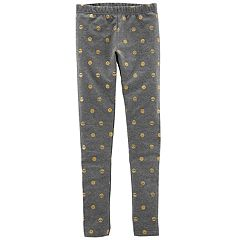 Girls 4-14 Carter's Emoji Leggings