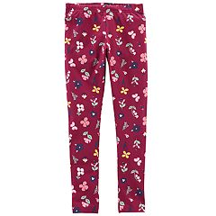 Girls 4-14 Carter's Butterfly & Flower Print Leggings