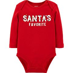 Baby Carter's 'Santa's Favorite' Graphic Bodysuit