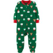 Baby Carter's Holiday Animal Fleece Sleep & Play