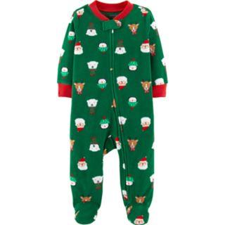 Baby Carter's Holiday Animal Fleece Sleep & Play