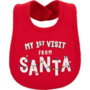 "Baby Carter's ""My 1st Visit From Santa"" Bib"