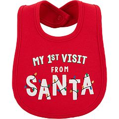 Baby Carter's 'My 1st Visit From Santa' Bib