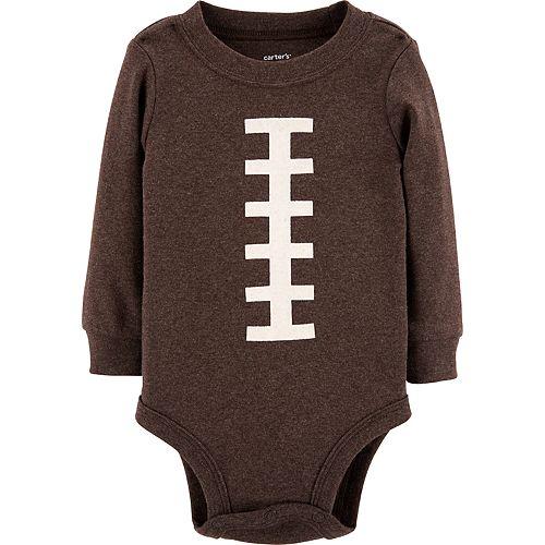 b83ec4df7cc9 Baby Carter s Football Bodysuit