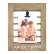 "New View ""Family Is Forever"" Photo Clip 4"" x 6"" Frame"