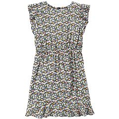 Girls 4-14 Carter's Floral Ruffle Dress