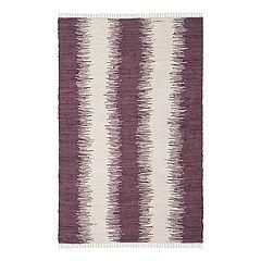 Safavieh Montauk Bronson Abstract Striped Rug
