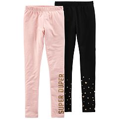 Girls 4-14 Carter's 'Super Duper' Leggings Set