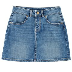 Girls 4-12 Carter's Denim Skirt