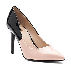 Jennifer Lopez Magnolia Women's Two-Tone High Heel Pumps