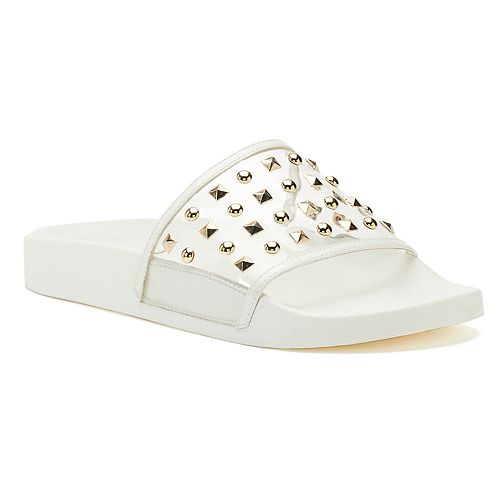 96b633f6f624 Jennifer Lopez Bodhi Women s Studded Slide Sandals