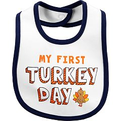 Baby Carter's 'My First Turkey Day' Bib