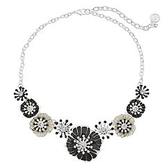 Dana Buchman Poppy Flower Collar Necklace